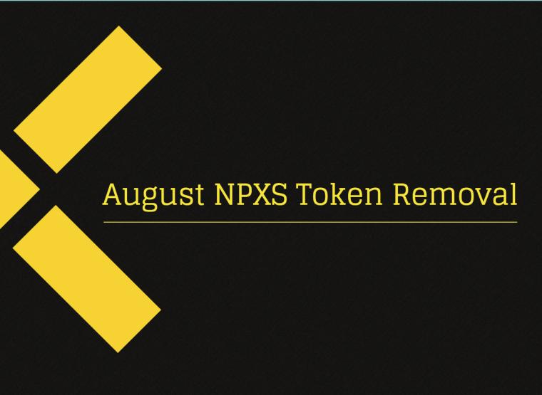NPXS removal